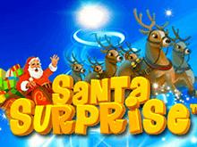 В лицензионном казино Santa Surprise от Playtech
